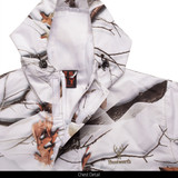 Light Weight Lined Microfiber Hunting Jacket - Chest detail.