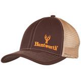 Men's Brown colored Hunting Logo Snapback Cap.