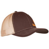 Cotton Twill Hunting Cap - Structued front panels.