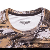 midweight Camo Hunting Base Layer Shirt - Tag free collar.