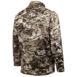 Rear View: midweight hunting Jacket -  Droptail hem.