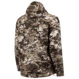 Rear view: Tarnen® Jacket - Waterproof with taped seams.