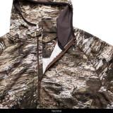Tarnen® pattern hunting Hoodie - Neckline.