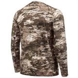 Rear view: midweight Base Layer Shirt - Armpit gusset.