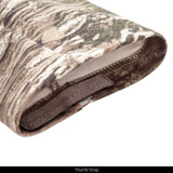 midweight Camo Hunting Base Layer Shirt - Thumb straps.