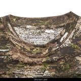 Light Weight Camo Hunting Long Sleeve Shirt - Silkscreen label.