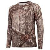 Men's Hidd'n® pattern midweight Hunting Base Layer Shirt.