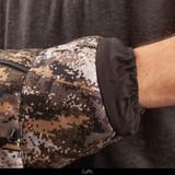 Insulated Hunting Muff - Inner fleece cuffs.