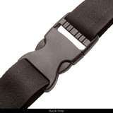Disruption® pattern Muff - Adjustable waist strap and buckle strap.