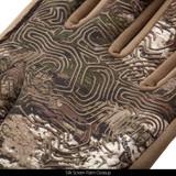 Tarnen® Gloves - Silk screen palm close up.