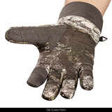 Hybrid Windproof/Water Resistant Hunting Gloves - Silk screen palm.