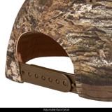 Tarnen® pattern Baseball Cap - Adjustable plastic snap closure.