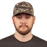 Cotton Baseball Cap - Traditional 6-panel hat style.
