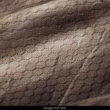 Light Weight Pullover - Hexagon knit fabric.