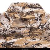 Men's Camo Windproof jacket - Harness hole