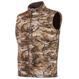 Men's Disruption® pattern Midweight Windproof hunting vest.