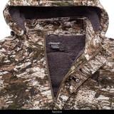 Tarnen® camo hunting jacket - Neckline.