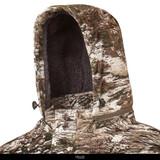 Rear view: Tarnen® pattern jacket - Drawcord adjusters.