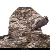 Sherpa lined huting jacket - Zip off hood.