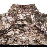 Men's Camo Windproof jacket - Harness hole.
