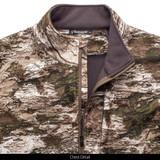 Tarnen® pattern vest - Chest detail.