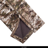 Tarnen® pattern Windproof pants - Leg zipper.
