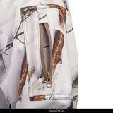 Midweight Camo hunting hoodie - Zip Sleeve pocket.
