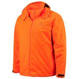 Men's Blaze color Heavyweight Waterproof Hunting Jacket.