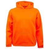 Blaze color Hoodie - Knit jersey.