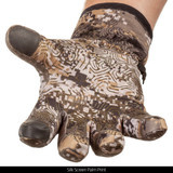 Midweight Waterproof Hunting Gloves -  Silk Screen Palm Print.