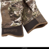 Tarnen® pattern hunting gloves - Cuff detail.