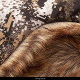 Thinsulate™ Insulated Hunting Hat - Faux fur lining detail.