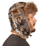 Men's Blackfoot Heavyweight, Waterproof, Thinsulate-Lined, Trapper Hat - Disruption®