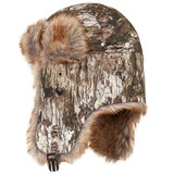 Rear view: Tarnen® Hat - Soft tricot shell.