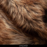 Heavyweight Waterproof Hunting Trapper Hat - Faux fur lining around ears and neck.