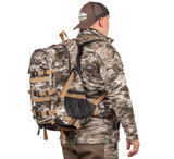 Suspension System Hunting Pack - Mesh suspension system for weight load distribution.