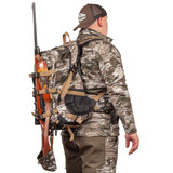Tarnen® pattern Back Pack - Adjustable padded waist belt.