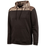 Men's Heather Gray and Hidd'n Camo color Knit Jersey Lifestyle Hoodie.