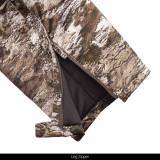 Heavy weight bib - Leg side zipper.