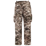 Heavy Weight Sherpa Bonded camo hunting Pants - Interior Grip Elastic and Suspender Loops.