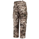 Rear view: Heavy Weight Windproof hunting pants - two rear pockets.