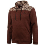 Men's Heather Brick and Hidd'n Camo color Knit Jersey Lifestyle Hoodie.