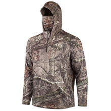 Men's Mid Weight Sporty Knit Jersey ½ Zip Hunting Hooded Pullover (Hidd'n®)