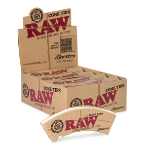 RAW Maestro Cone Rolling Tips (Display)
