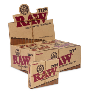 RAW Pre-Rolled Tips (Display)