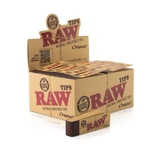 RAW Original Rolling Tips (Display)