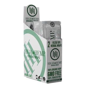High Hemp Organic Wraps (Display) - Original