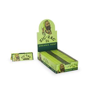 Zig-Zag Organic Hemp Rolling Papers (Display) - 1¼
