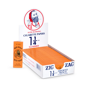 Zig-Zag French Orange 1¼ Rolling Papers (Display)