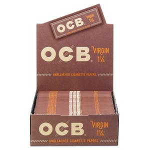 OCB Virgin Rolling Papers (Display) - 1¼